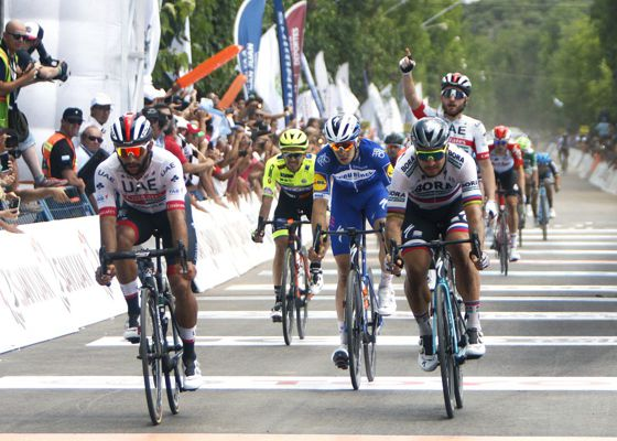 Fernando Gaviria ganó 4 etapa San Juan Argentina