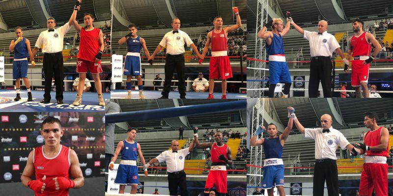 PRIMERA JORNADA DEL WBA FUTURE CHAMPIONS
