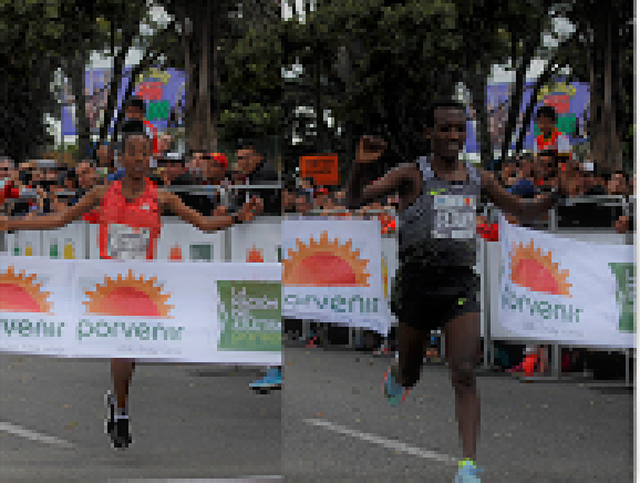 Ganadores media maraton 2018