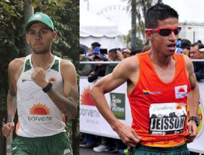 JEISSON SUÁREZ Y GERARD GIRALDO VOLVERÁN A COMPETIR EN COLOMBIA ESTE DOMINGO