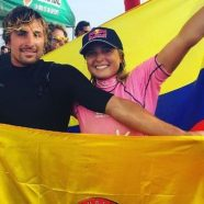 2 OROS PARA COLOMBIA EN PANAMERICANOS DE SURF EN PERÚ
