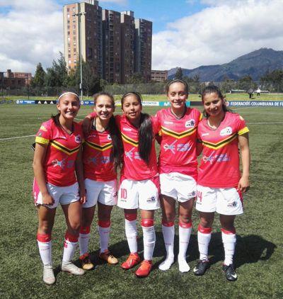 Goleadoras bogotá 1 fecha clasificatorio grupo 2 2019