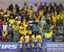 COLOMBIA FINALIZÓ SEXTA EN EL MUNDIAL DE HOCKEY PATÍN