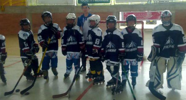 Hockey en linea menores
