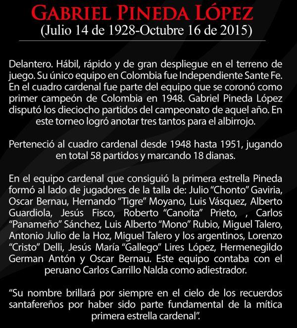 Homenaje a Gabriel Pineda López