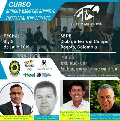 """II curso """"Gestión y Marketing Deportivo enfocado al Tenis de Campo"""""""