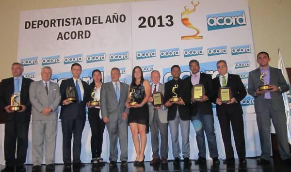 DEPORTISTA DEL AÑO ACORD COLOMBIA 2013