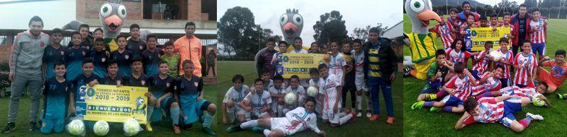 Independiente Capital, Titanes Bogotá y Maracaneiros