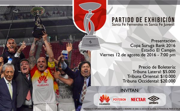 Invitación Presentación Copa Suruga
