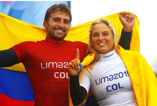 SURFISTAS COLOMBIANOS QUE SORPRENDIERON EN LIMA