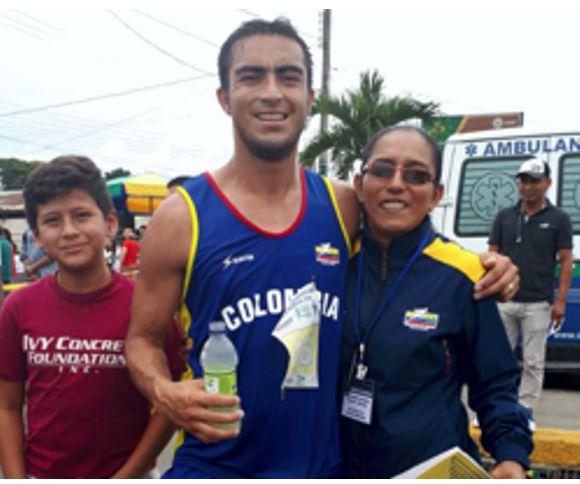 James Rendon Suramericano de Marcha