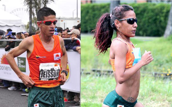 Jeisson Suarez y Kellys Arias