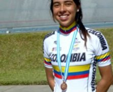 JESSICA PARRA BRONCE EN EL PANAMERICANO DE CICLISMO