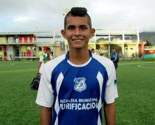 JONATHAN BASTIDAS JUGADOR DEL CLUB REAL JUVENTUD