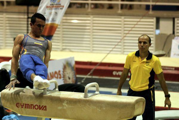 Jossimar Gimnasia Primeras medallas