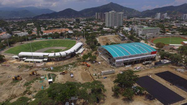 Juegos Bolivarianos panorámica escenarios