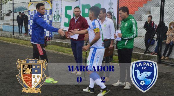 VICTORIA DE LA PAZ FC EN PARTIDO AMISTOSO EN SOPÓ