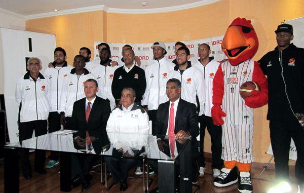 Lanzamiento copa sudamericana baloncesto