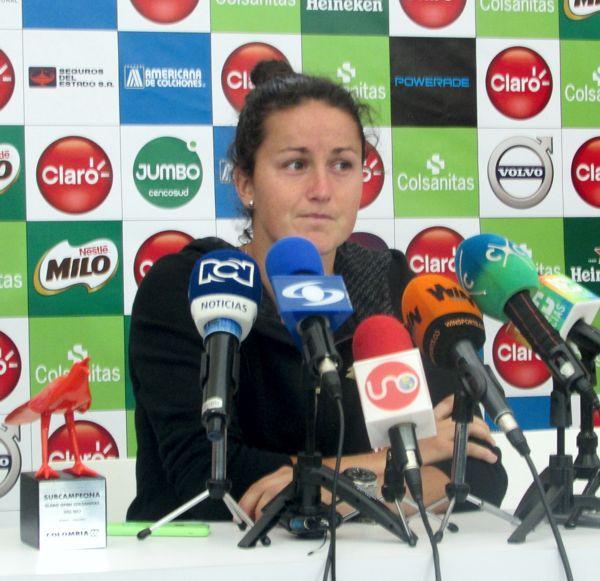 Lara Subcampeona Claro Open