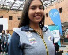 LAURA VIVIANA AYALA DE SELECCIÓN COLOMBIA U-16 EN COPA ESPECIAL