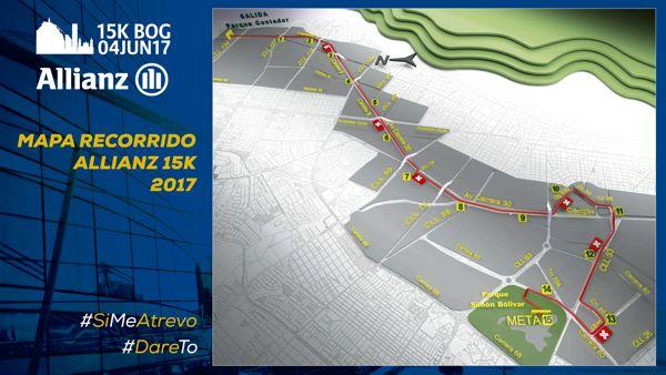 Mapa Recorrido Allianz 15K 2017-01