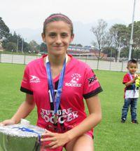 MARÍA HERNÁNDEZ, CAMPEONA CON FUTURO SOCCER