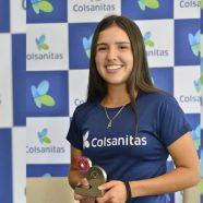MARÍA CAMILA OSORIO, N°4 DEL MUNDO JUVENIL LLEGÓ A COLOMBIA