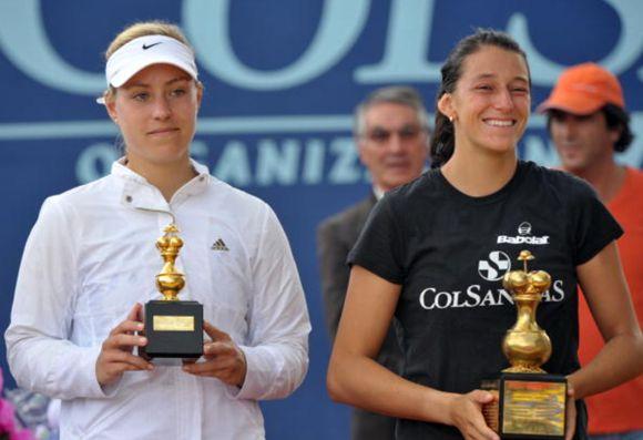 Mariana Duque campeona Bogotá 2010 (Getty)
