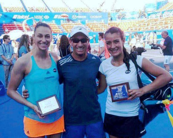Mariana Duque subcampeona dobles Acapulco 2017 01