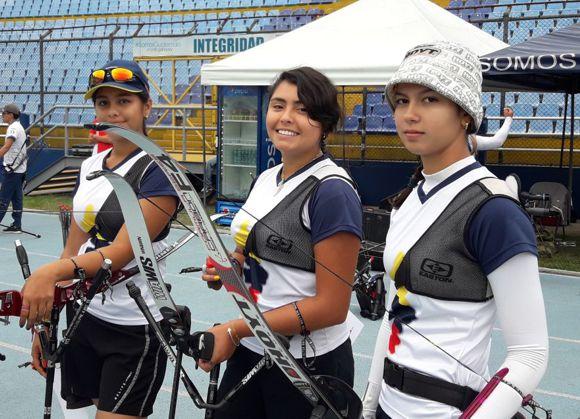 Mariana Ospina, María José Guerrero y Laura Botero.