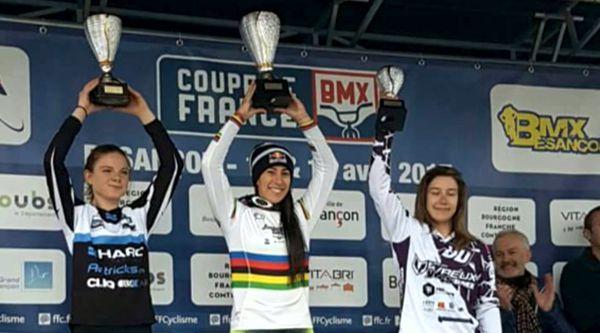 Mariana Pajon 3a.valida Francia