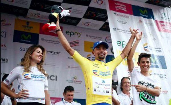 Mauricio Ortega Campeón Vuelta Colombia 2016