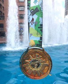 Medalla de la Maratón de Miami