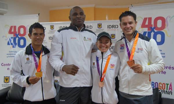 Medallistas Suramericanos