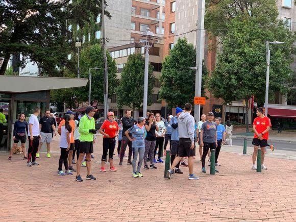 Media Maraton 2019 entrenamiento