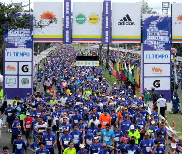 Media Maraton Bogota 2015