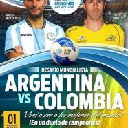 COLOMBIA JUGARÁ 4 PARTIDOS CON ARGENTINA