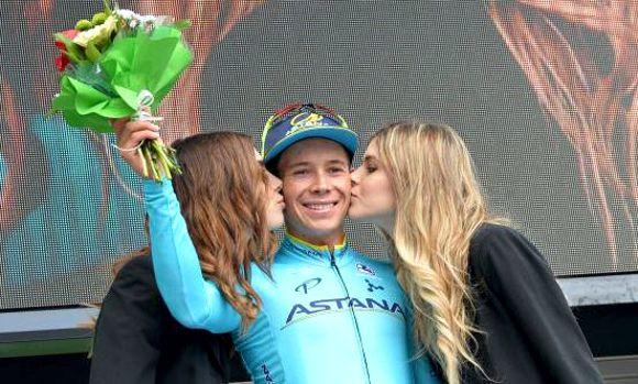 Miguel Angel López ganó 3 etapa Burgos