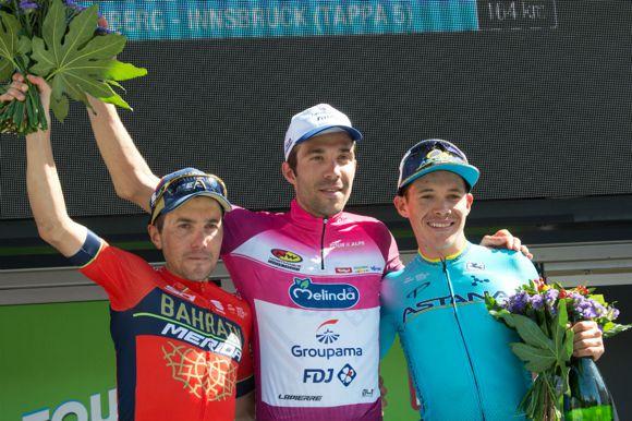 Miguel Angel López tercero en Los Alpes