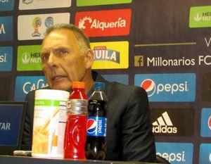 Miguel Angel Russo Millonarios vs Equidad