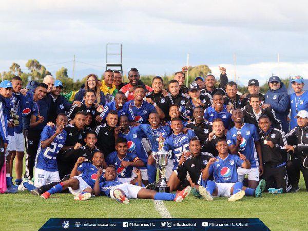 Millonarios campeón sub 20 2019