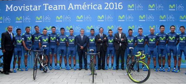 EL MOVISTAR TEAM AMÉRICA, LISTO PARA LA VUELTA A COLOMBIA