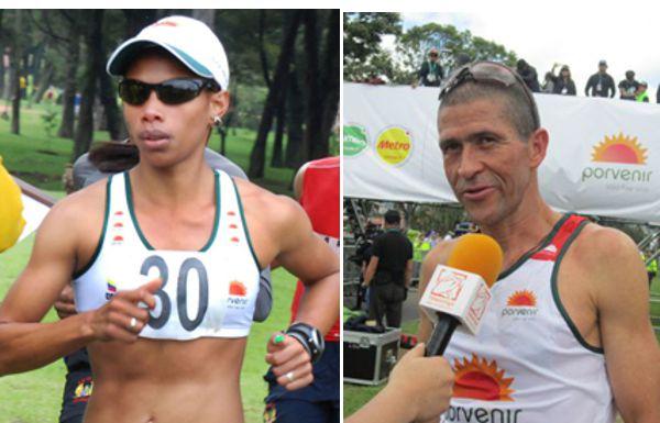 Muriel Coneo y Diego Colorado