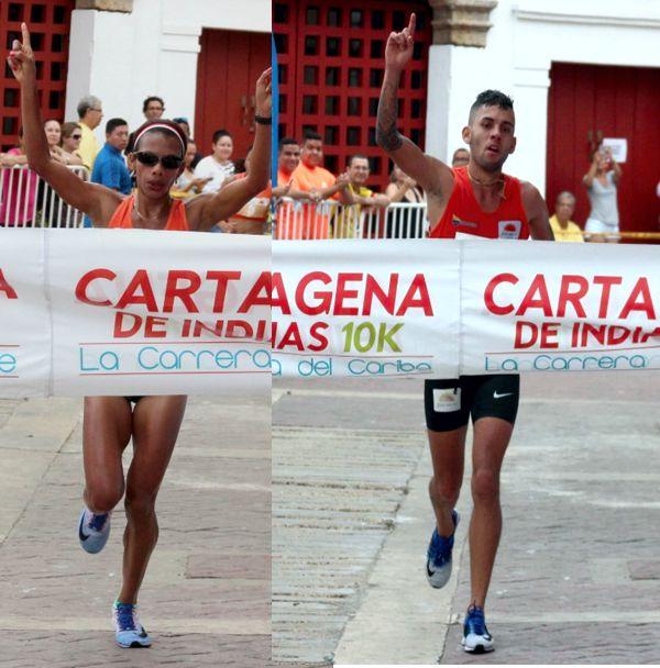 Muriel Coneo y Gerard Giraldo Cartagena
