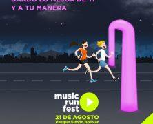 🎶 ¿Y TU YA VISTE CÓMO SERÁ EL MUSIC RUN FEST?