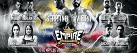 """NACE EN BOGOTÁ EMPIRE MMA DE LA MANO DE DOS EX PELEADORES DE UFC, FREDDY 'EL PROFE' SERRANO Y ALEX """"ROLO"""" TORRES"""