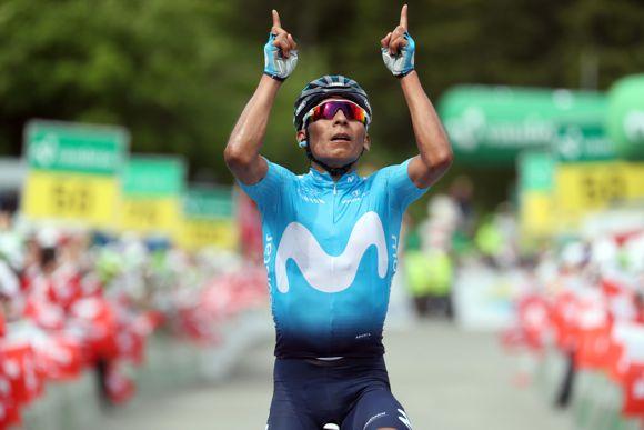 Nairo Quintana en Suiza