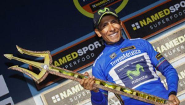 Nairo Tirreno Adriatico Campeón