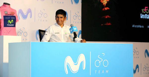 Nairo rueda de prensa previo al Giro