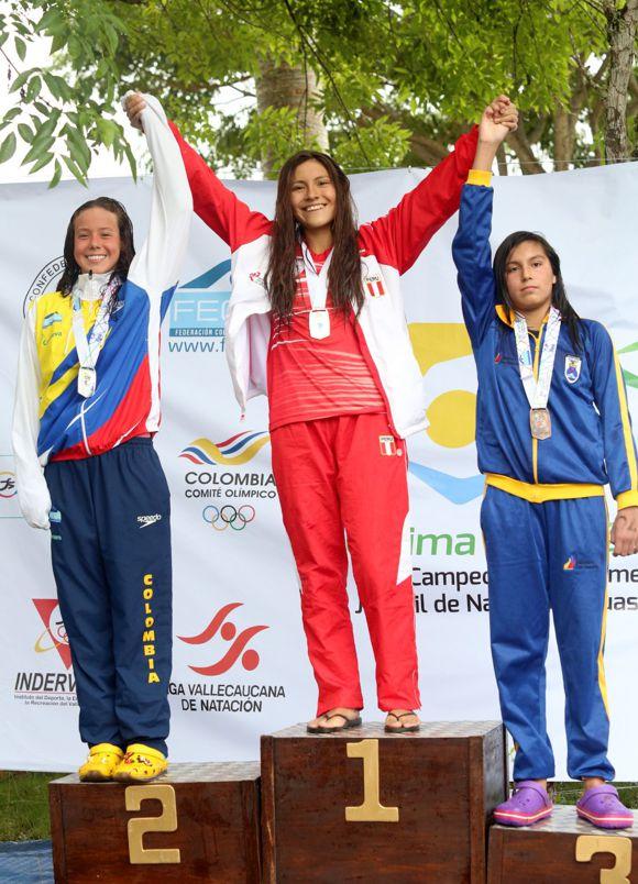 Natación 2 medalla plata